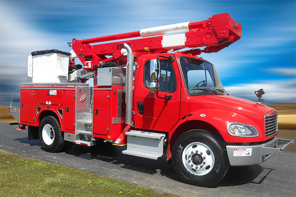 VST 5500 Bucket Truck